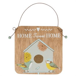 Home Tweet Home Garden Small Plaque
