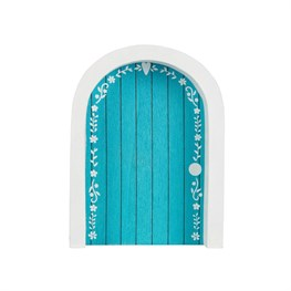 Magical Fairy Door Blue