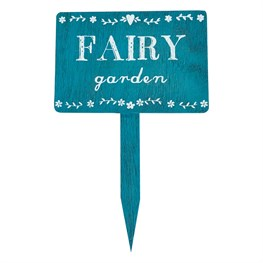 Fairies Garden Wooden Garden Sign