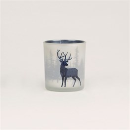 Midnight Stag Tealight Holder