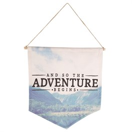 And So The Adventure Begins Banner