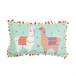 Lima Llama Cushion With Tassels