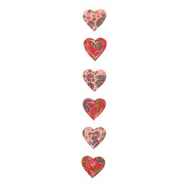 Cut Out Suzani Heart Hanging String