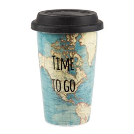 Time to Go Travel Mug