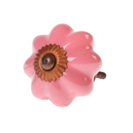 Patricia Vintage Shade Drawer Knob - Light Pink
