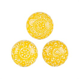 Fusion Drawer Knob Yellow