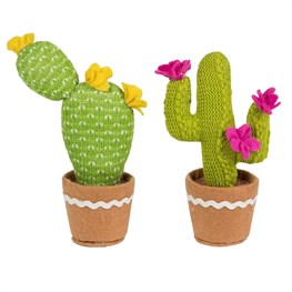 Colourful Cactus Fabric Decoration  (options available)