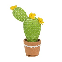 Yellow Colourful Cactus Fabric Decoration