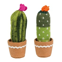 Colourful Cactus Fabric Tall Decoration  (options available)