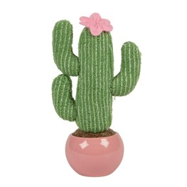 Pastel Cactus Fabric Decoration