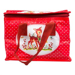 Heidi Woodland Creatures Polka Dot Lunch Bag