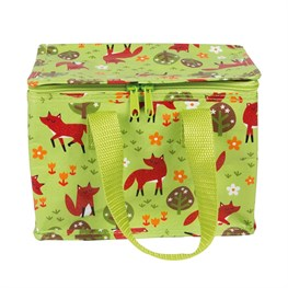 Spring Forest Fox Lunch Bag