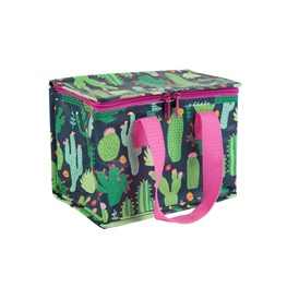 Colorful Cactus Lunch Bag