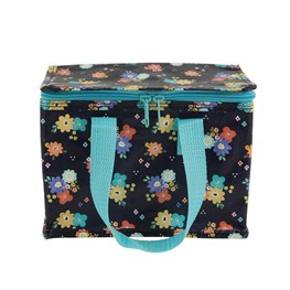 Dahlia Floral Lunch Bag