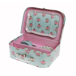 Picnic Box Tea Set Blue