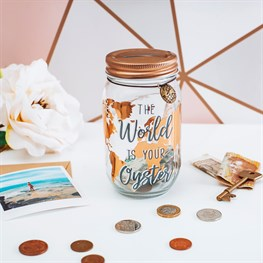 World Explorer Money Jar