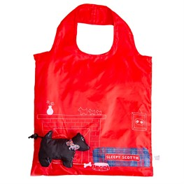 Scottie Dog Foldable Shopping Bag