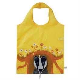 Badger Foldable Shopping Bag