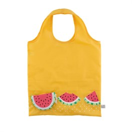Tropical Watermelon Foldable Shopping Bag