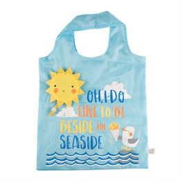 Naughty Gull Foldable Shopping Bag