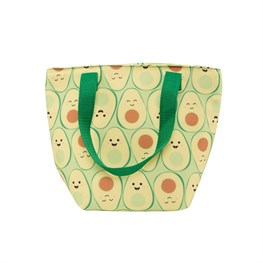 Happy Avocado Lunch Tote Bag