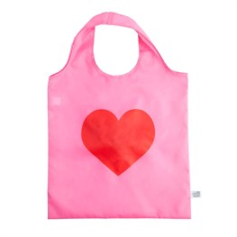 Love Heart Foldable Shopping Bag