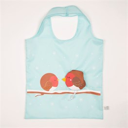 Sleeping Robins Foldable Shopping Bag