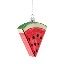 Watermelon Slice Shaped Bauble