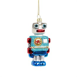 Ricky Robot Shaped Bauble