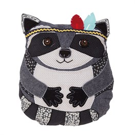 Arnie Raccoon Animal Adventure Cushion