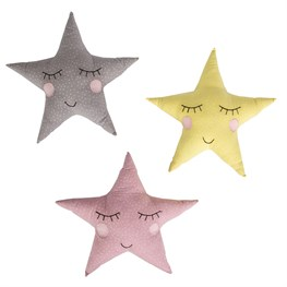 Polka Dot Pastel Star Cushion  (options available)