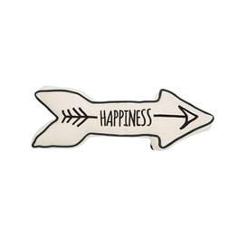 Exclusive Happiness Arrow Novelty Cushion