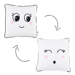 Blushing Fun Face Cushion
