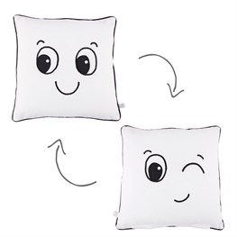 Winking Fun Face Cushion