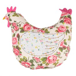 Country Chic Hen Cushion