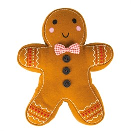 Roger Gingerbread Man Cushion