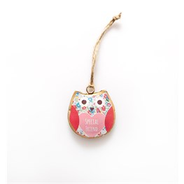 Spring Mini Special Friend Hanging Owl