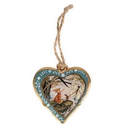 Fairytales Come True Vintage Fairies Hanging Heart