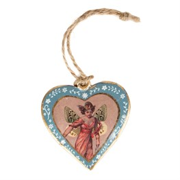 Fairy Dance Vintage Fairies Hanging Heart
