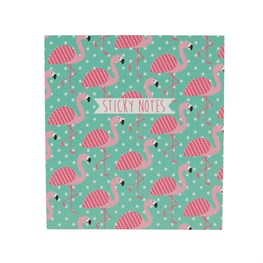 Tropical Summer Flamingo Sticky Note Set