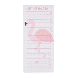 Tropical Flamingo To-Do List Notepad