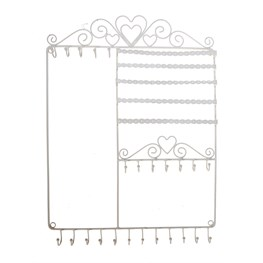 Wall Jewellery Stand Cream