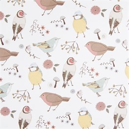 Vintage Bird Wrapping Paper  - 3 Sheets