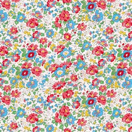 Vintage Floral Spring Wrapping Paper