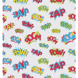 Pop Art Wrapping Paper  - 3 Sheets