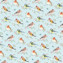 Garden Birds Wrapping Paper