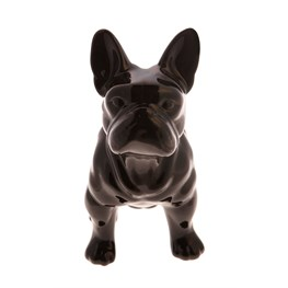 Pug Money Box Black
