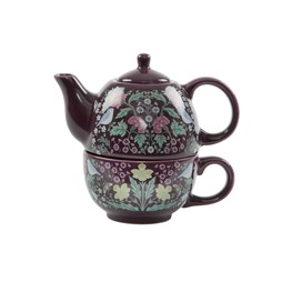 Midnight Garden Teapot For One