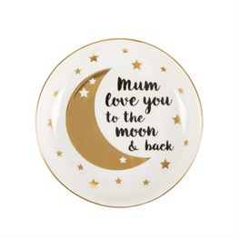 Mum Love You to The Moon and Back Trinket Dish