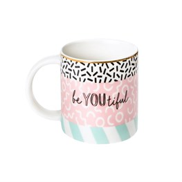 Memphis Modern Be You Beautiful Mug